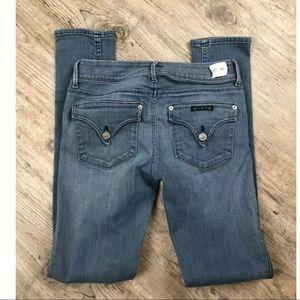 Hudson Collin Flap Skinny Jeans in FLTP Wash ~26